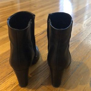 Neiman Marcus Shoes - Black heeled boots. Neiman Marcus